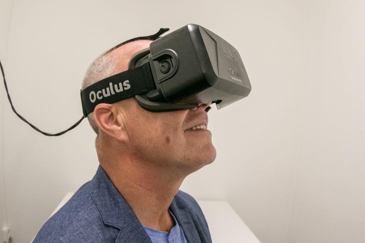 Wirtualny spacer w goglach VR