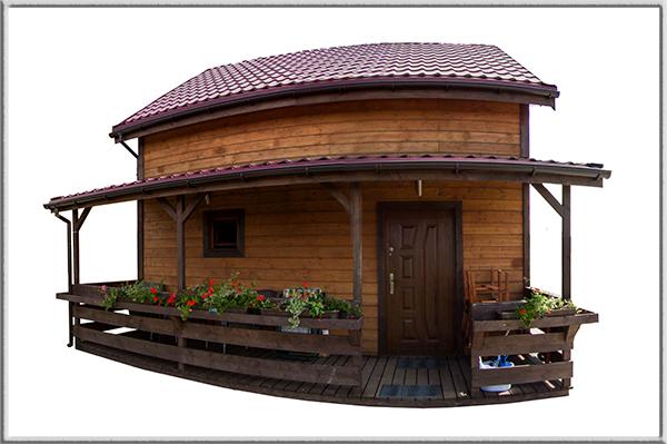 Wirtualne spacery po domach drewnianych