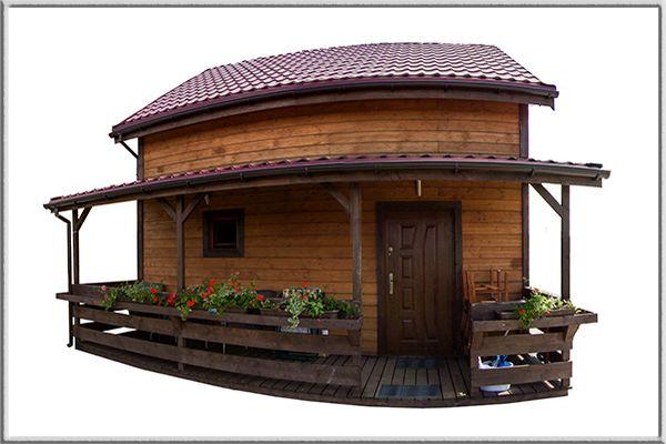 Wirtualny spacer po domku drewnianym w Rewalu