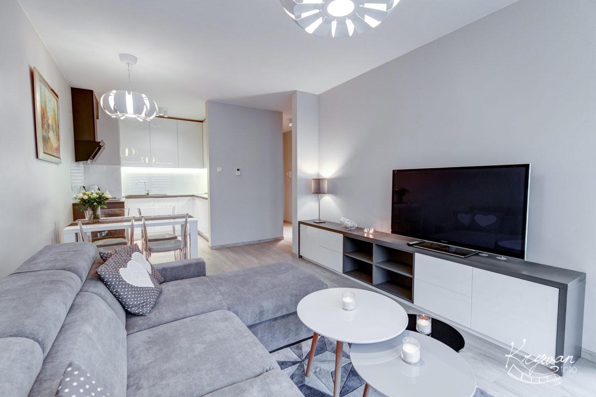 Zdjęcia apartamentu na Mariackiej w Szczecinie