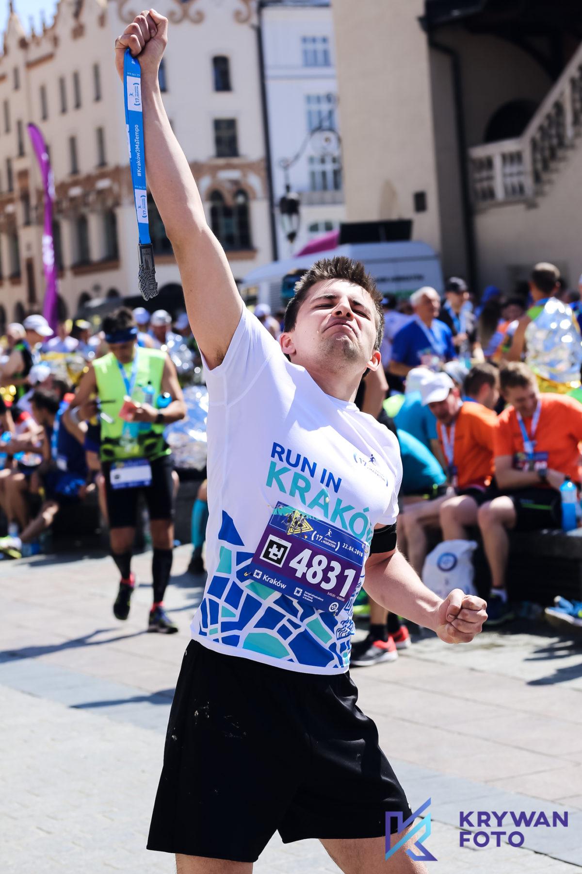 Zdjęcia z 17. PZU Cracovia Maraton
