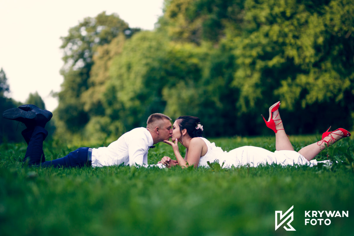 Sesja ślubna w Przelewicach
