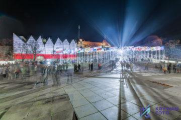 Dzień Niepodległości, fotograf Szczecin, zdjęcia Szczecin, Nocny Szczecin, zdjęcia nocne Szczecin, fotografia Szczecin