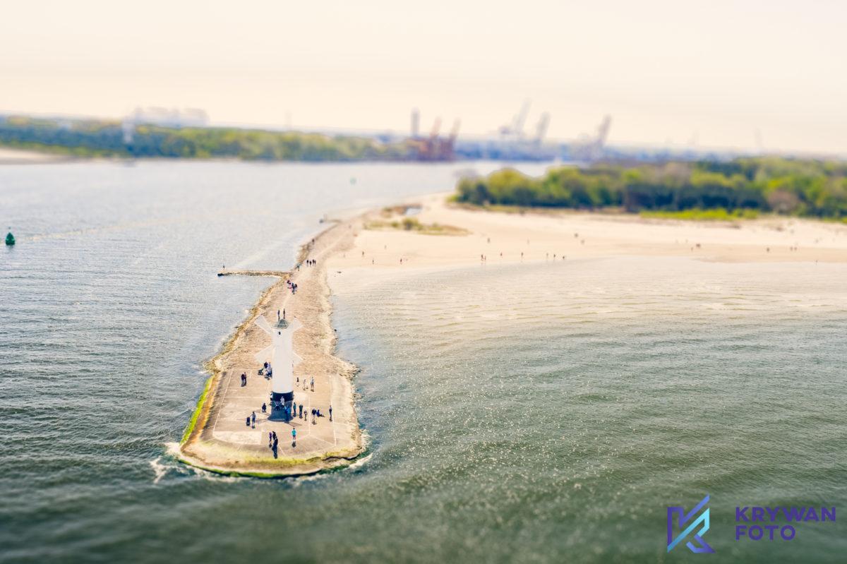Symbol Świnoujścia czyli Wiatrak z widokiem na morze