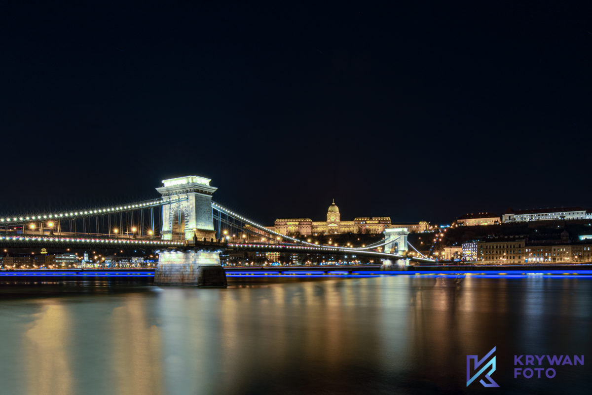 budapeszt nocą, nocny Budapeszt, noc, Budapeszt