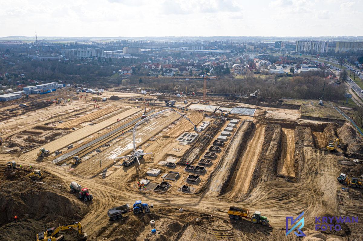 Ikea Szczecin, Ikea w Budowie, Film z drona, fotografowanie z drona