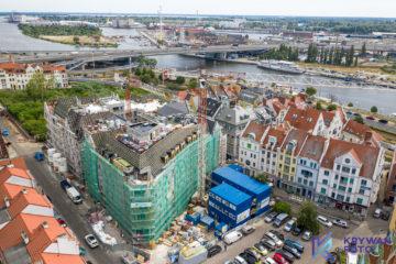 dron szczecin, fotografia Szczecin, filmowanie Szczecin, film, Stare Miasto, Szczecin