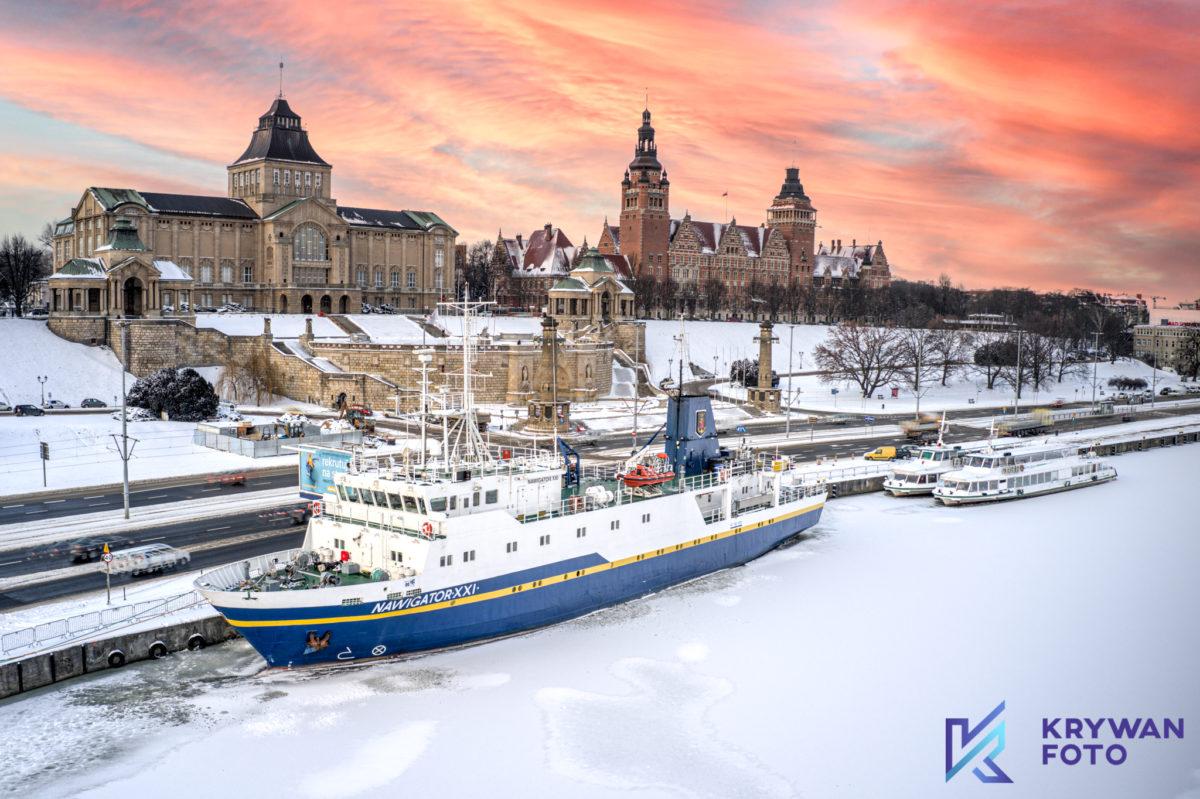 Szczecin Zimą